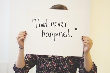 """""""Dat is nooit gebeurd"""""""