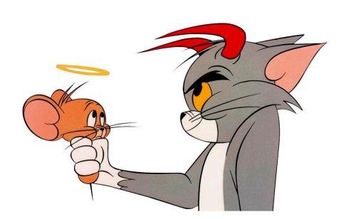 En sommige katten hebben nu eenmaal niet het beste voor met knaagdieren (hoewel het in dit geval natuurlijk om een muis gaat)