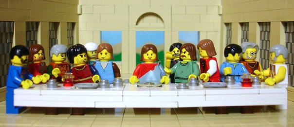 Last Supper Lego