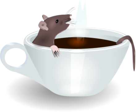 There's a rat in mi coffee, what am I gonna do
