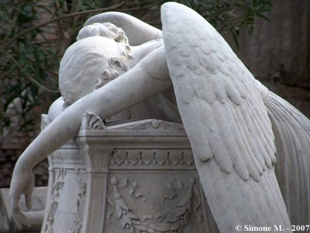 Angel Of Grief, Cimitero Acattolico Roma