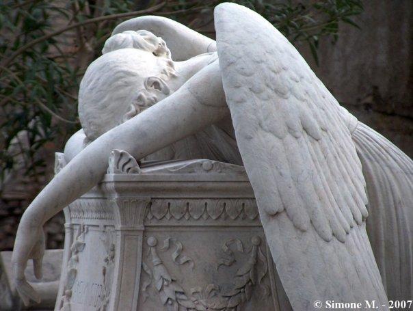Angel Of Grief, Cimitero Acattolico Roma