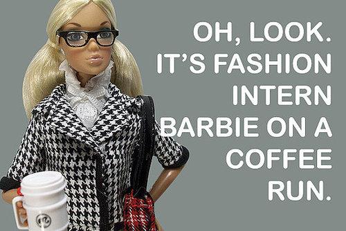 Intern on a coffee run