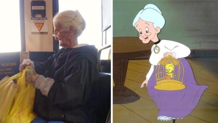 Granny lookalike