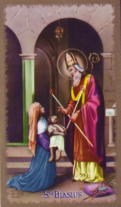 Blasius en het kind