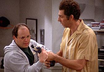 The statue, Seinfeld