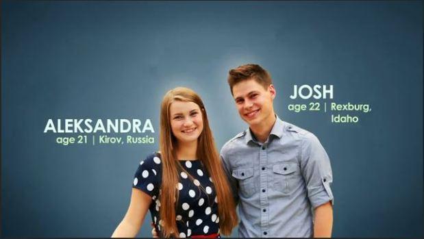 Studente en go-go danseres Aleksandra en Mormoon in de kast Josh